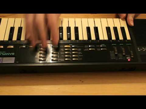 Casio SK 1 Sampling Keyboard Demonstration