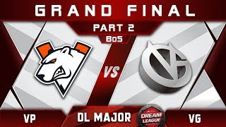 VP vs VG Grand Final Stockholm Major DreamLeague Highlights 2019 Dota 2 - [Part 2]