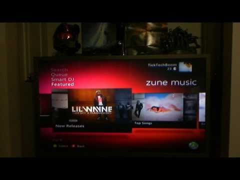 Zune pass on the Xbox 360