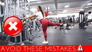 6 Common Gym Mistakes - Training Legs & Booty