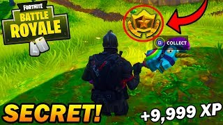ALL NEW *SECRET* WEEK 2 CHALLENGES in FORTNITE TUTORIAL! EASY XP! (Fortnite Battle Royale)