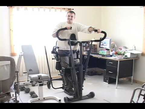 Active Standing Frame For Paraplegics Youtube