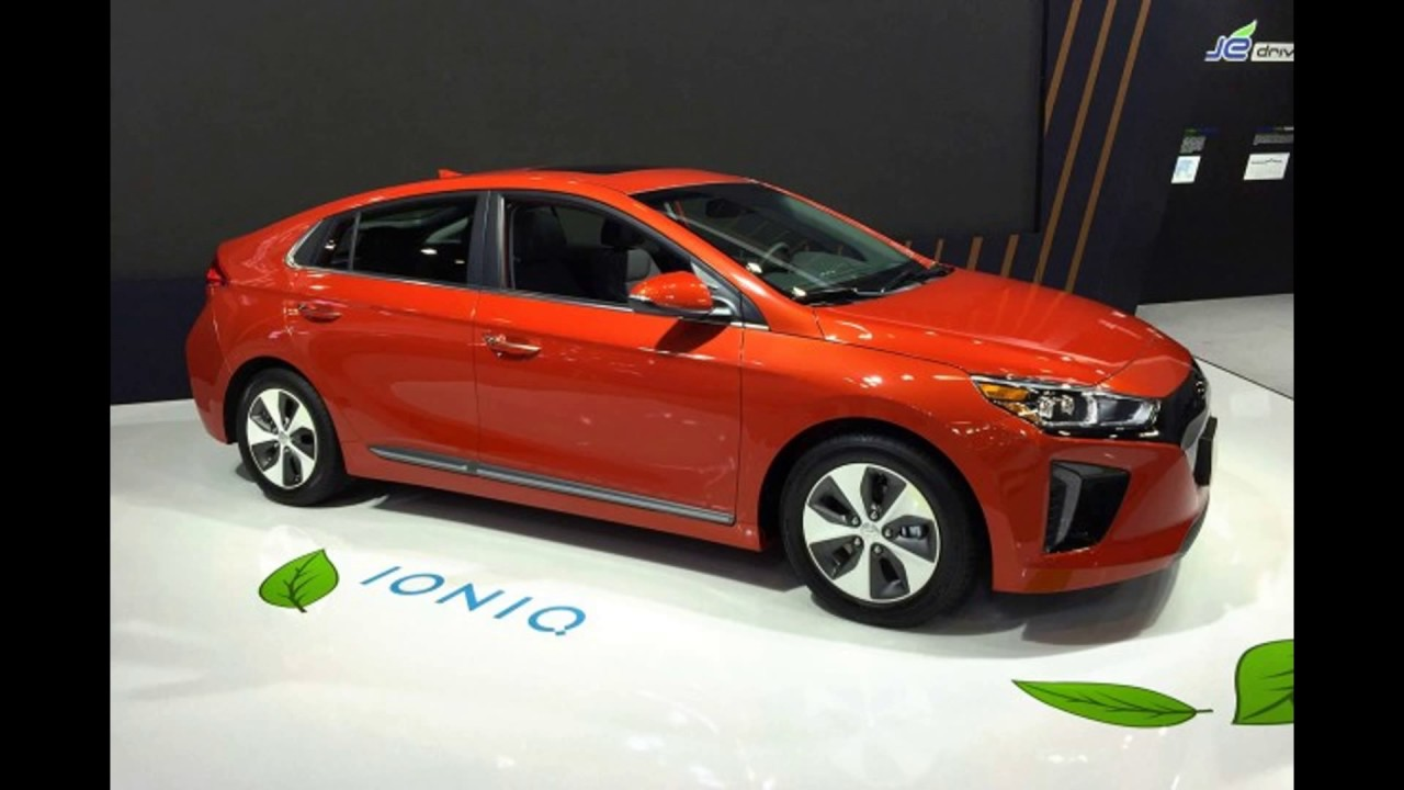 Hyundai ioniq colours - YouTube