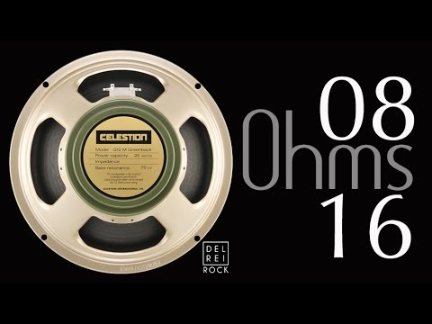 Celestion Greenback G12M 16 Ohms VS 08 Ohms