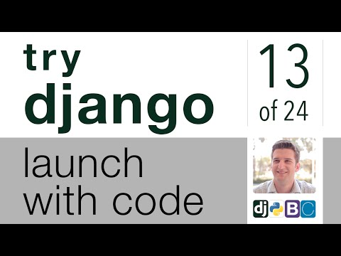 Try Django - Launch with Code - 13 of 24 - Save Reference ID