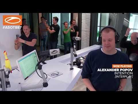 Alexander Popov - In The Studio ASOT #ASOT887