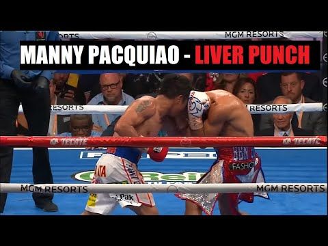 Manny Pacquiao's Sneaky Liver Punch