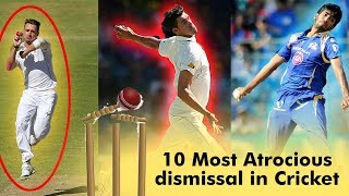 10 Most Atrocious dismissal in Cricket | Simbly Chumma