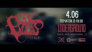 CRY EXCESS [IT] | 4.06 | ЛЬВІВ | UNDEGROUND