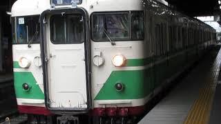 しなの鉄道115系「初代長野色」長野駅発車!※3番線発車メロディーあり