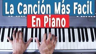 Canciones Fáciles En Piano Para Principiantes Como Tocar Notas Y Acordes Youtube