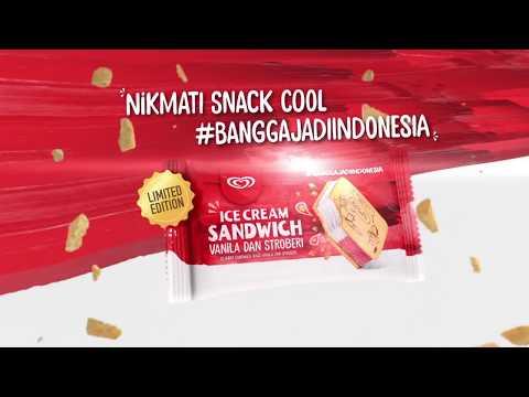 Walls Ice Cream Sandwich BARU!