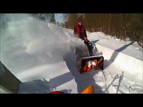 Уборка снега - снегоуборщик PATRIOT