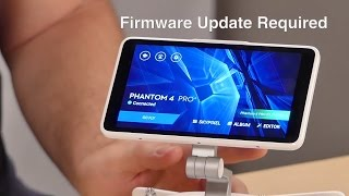 DJI P4Pro Plus Firmware Update