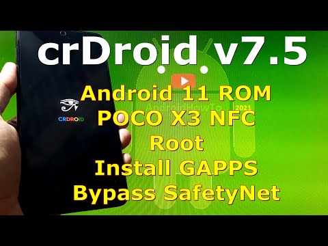 crDroid v7.5 Official for Poco X3 NFC (Surya) Android 11