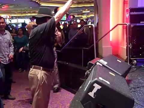 Dancing Disco Ralph-Two White Gloves/Black Hat at Empire Casino