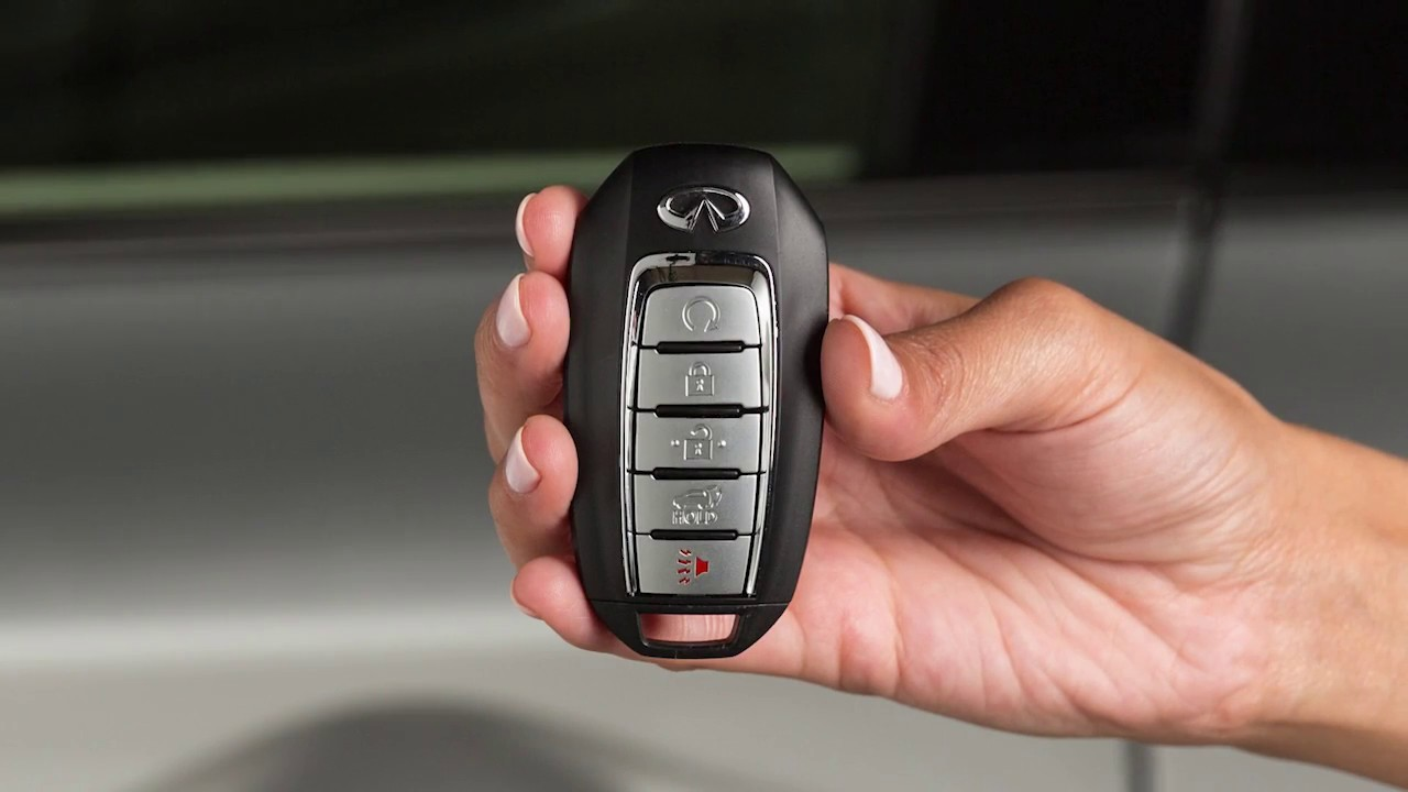 2019 Infiniti Qx60 Intelligent Key Remote Battery Replacement