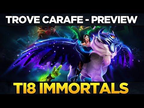 TI8 IMMORTALS TROVE CARAFE FULL PREVIEW + TREASURE OPENING - THE INTERNATIONAL 2018 DOTA 2