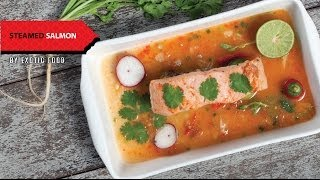 How To Make Thai Food At Home - Steamed Salmon