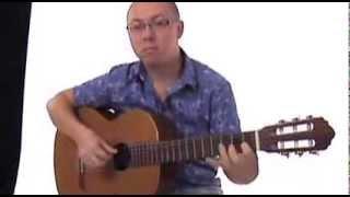 Старинная английская песня на гитаре