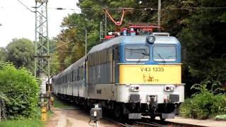 Ungarische Bahn - MAV, Impressionen August 2011