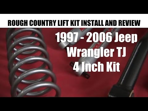 Jeep wrangler lift kit installation 1997 2006 rough country 4 inch jeep wrangler lift kit installation 1997 2006 rough country 4 inch lift kit tutorial and review solutioingenieria Images