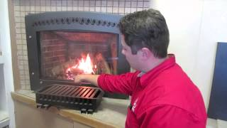 "Enviro 42"" Direct Vent Gas Fireplace Burn Video Central Coast Fireplaces"
