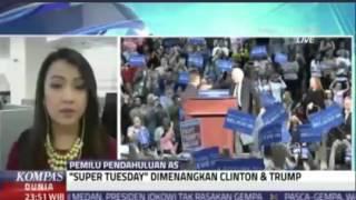 Pemilihan Pendahuluan Capres AS - Live Hits VOA untuk Kompas TV