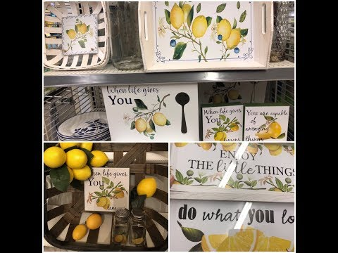 SUMMER DECOR WITH LEMONS 🍋 AND MORE AT💰 DOLLAR GENERAL 2019