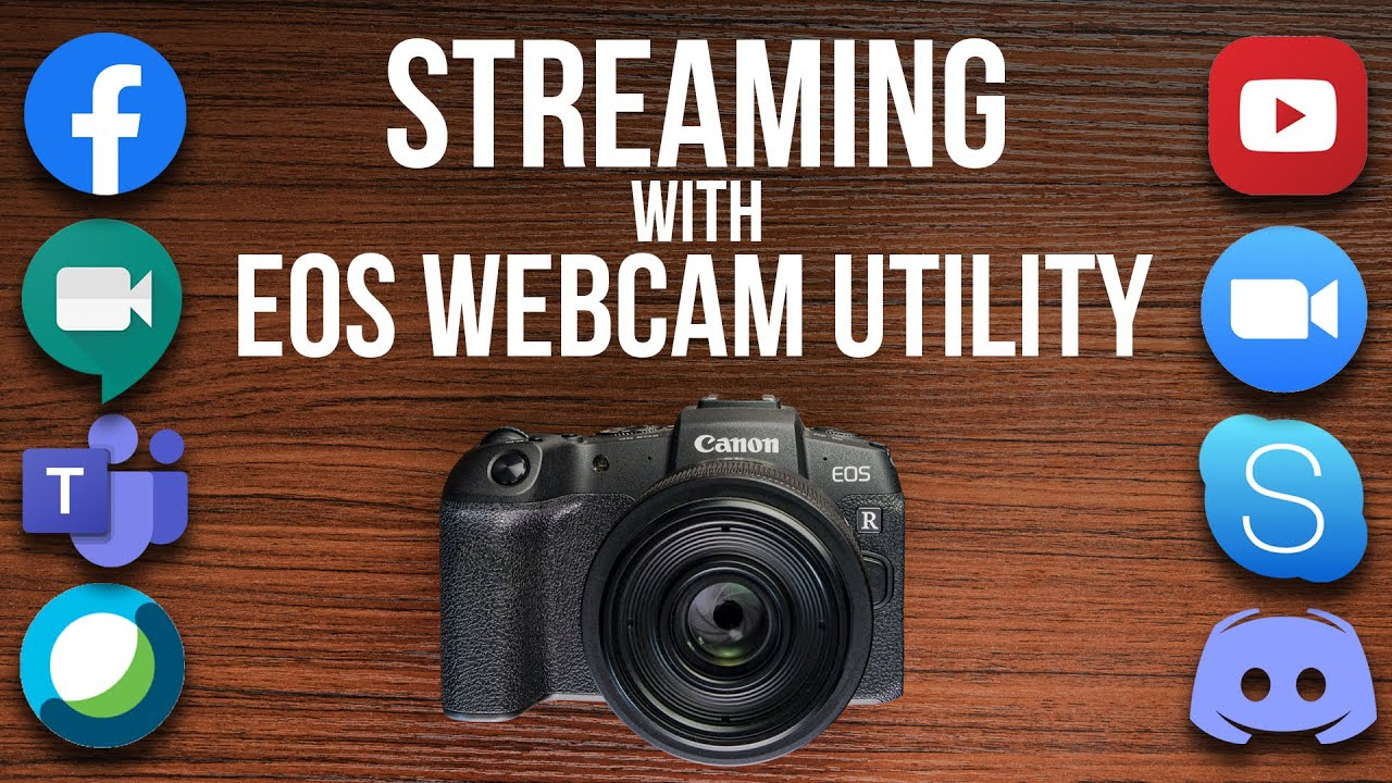 How To Use Your Dslr As A Webcam Updated