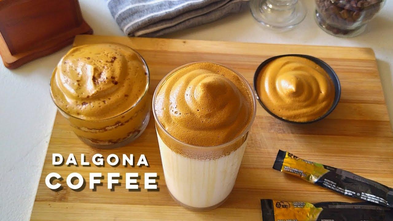 How To Make Whipped Dalgona Coffee