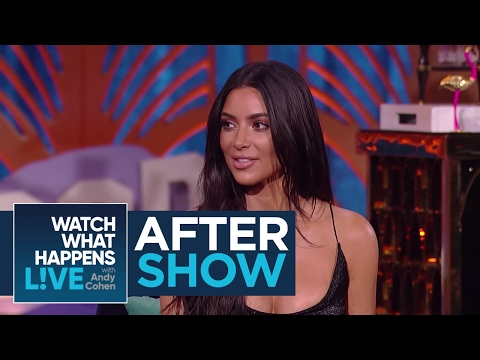 After Show: Kim Kardashian West Knew Her Marriage Was Going To Fail | WWHL