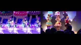 【プリパラ】アニメのライブシーンとi☆Risの生ライブを比較してみた