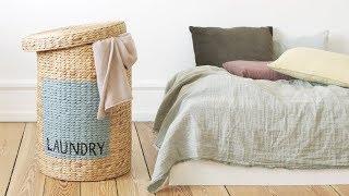 DIY : Create a decorative laundry bag by Søstrene Grene