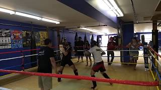 Gambar cover Amateur Kickboxing: Phil Sammon vs Montaser Aljundy - Coach Josh Wood