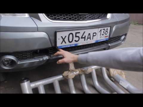 Установка кенгуру на Chevrolet Niva (Шевроле Нива) своими руками