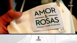 Marca de ropa mexicana reconoce a artesanos mexicanos | Noticias con Francisco Zea