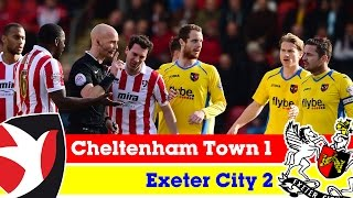Cheltenham Town 1-2 Exeter City (21/3/15) - Sky Bet League 2 Highlights 2014/15