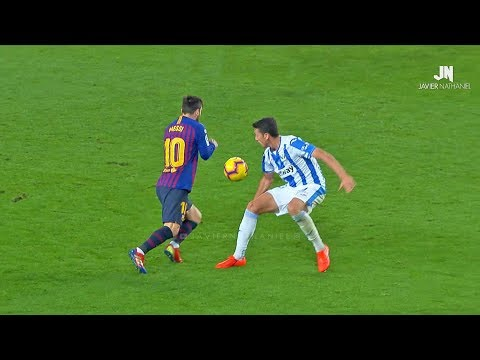 Lionel Messi Dominating Everyone 2019! Dribbling Skills & Goals