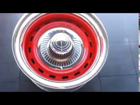 Truck rally wheel derby cap adapter kit