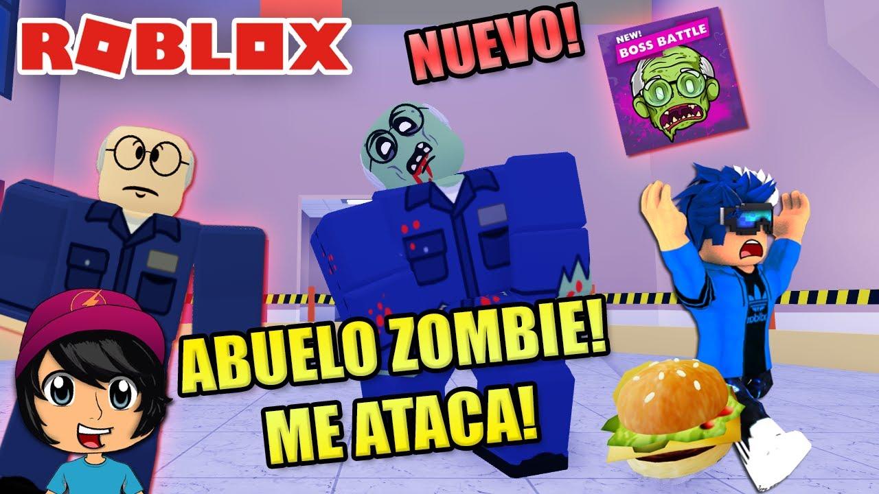 EL ABUELO ZOMBIE ME ATACA!! | Soy Blue | Field Trip Z Roblox Español
