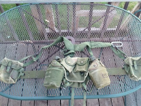 Vietnam Collecting/ Airsofting On Budget M-1956 Field Gear