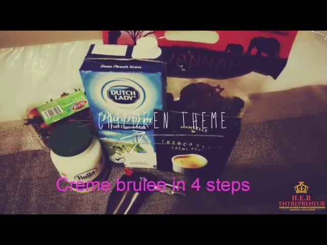 Simple and Delicious 4-Step Crème Brûlée Recipe