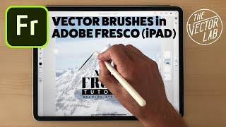 Gambar cover Drawing with Vector Brushes in Adobe Fresco for iPad