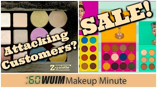 Makeup Minute | Z-PALETTE Critiques its CUSTOMERS! + SALES For ULTA & JUVIA'S PLACE!