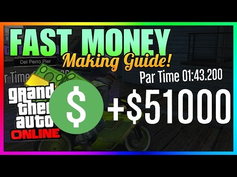 GTA 5 Online Time Trial: Del Perro Pier - Fast Solo $50,000 Money Guide - PS4/Xbox One/PC