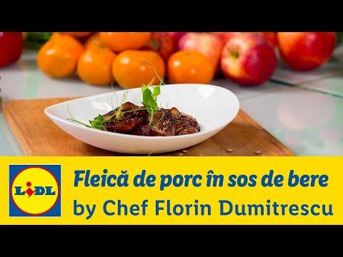 Fleica de porc in sos de bere • Gateste cu Chef Florin Dumitrescu