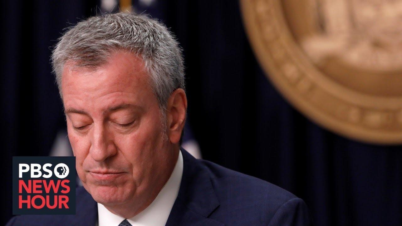 WATCH LIVE: New York Mayor Bill de Blasio gives coronavirus update -- August 12, 2020