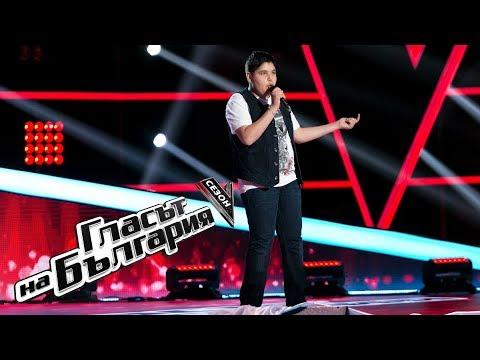 Ivan Stoyanov – Mercy – The Voice of Bulgaria 5 – Blind Auditions (18.03.2018)