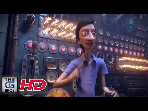 """CGI 3D Animated Short Classic: """"Love In The Time Of Advertising"""" - by Wolf and Crow"""